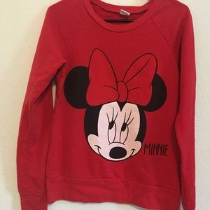 Minnie Mouse Red Sweater Pullover